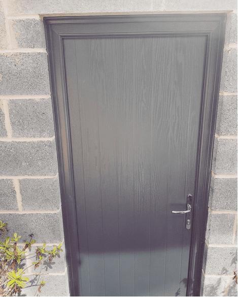 Composite Door spraying in Ravenshead, Nottinghamshire